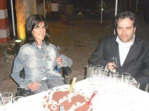 Anna Petrone e Alberto Fontana