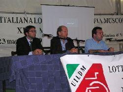 Un tavolo di confronto durante le Manifestazioni UILDM 2009