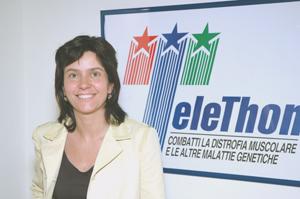 Francesca Pasinelli, direttore generale della Fondazione Telethon