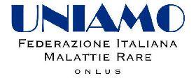 Il logo di UNIAMO, la Federazione Italiana Malattie Rare