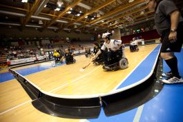 Mondiali di wheelchair hockey, Italia-Germania