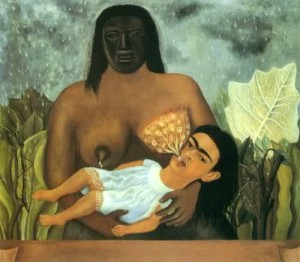Frida Kahlo, La mia balia e io, 1937
