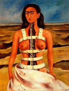 Frida Kahlo, La colonna spezzata, 1944