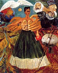 Frida Kahlo, Il marxismo guarirà i malati, 1954 circa