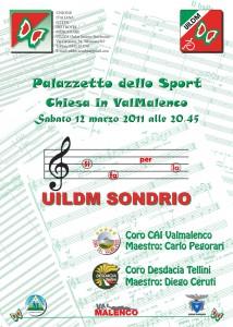 manifesto concerto Sondrio