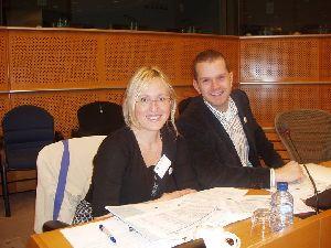 Cira Solimene al Parlamento Europeo di Bruxelles