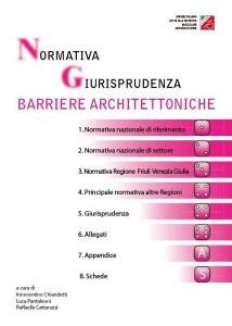 Copertina del libro Normativa e barriere Architettoniche