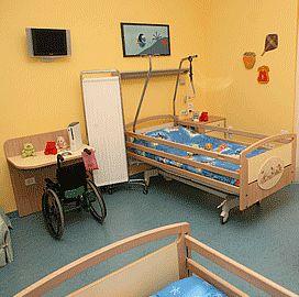 Una stanza per bambini del Centro Clinico NEMO