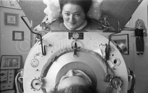 Rosanna Benzi allo specchio