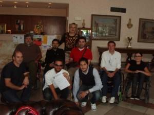 Un momento della prima edizione del Corso di Formazione targato UILDM (2009)!