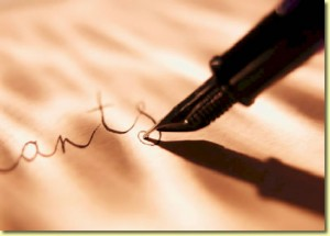 Una penna