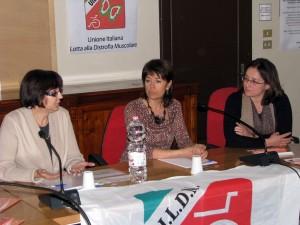 Al centro, Antonella Pini al lancio dell'iniziativa