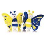 Farfalle di peluche