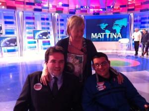 Alberto Fontana, Irene Martini e Marco Ferrazza