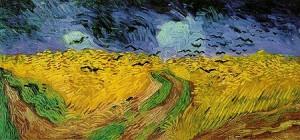 Vincent van Gogh, Campo di grano con volo di corvi, 1890, Van Gogh Museum, Amsterdam
