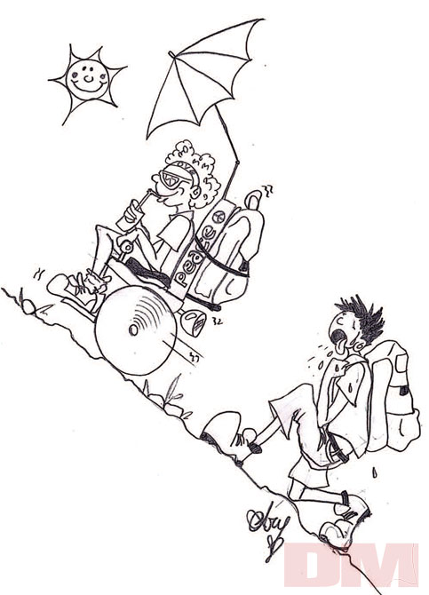 La vignetta di Arianna Bassi per DM 177