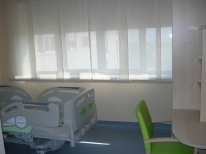 Una stanza del Centro Clinico NEMO SUD