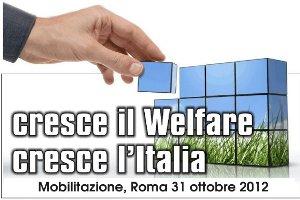 """Logo di """"Cresce il welfare, cresce l'Italia"""""""