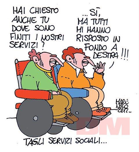 La vignetta di Paolo Marengo