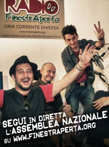 Buona lavoro, Radio Finestra Aperta!