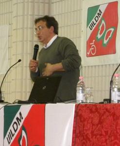 Carlo Giacobini alle Manifestazioni Nazionali UILDM 2013
