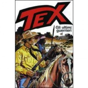 """Copertina di un numero di """"Tex"""""""