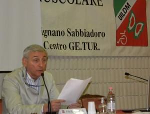Paolo Banfi interviene alle Manifestazioni Nazionali UILDM 2013