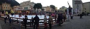 La pista di pattinaggio di Riva del Garda