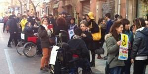 Occupy parcheggi a Sassari