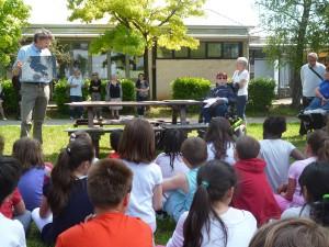 2014.06.06 UILDM_area verde De Rocco_lezione con i bambini scuola san domenico_Campigotto