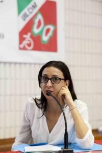 Maria Elena Lombardo alle Manifestazioni Nazionali UILDM 2014