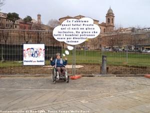 """Ora il Parco """"Campo della Fiera"""" accessibile è una realtà! [immagine tratta dal blog parchipertutti.blogspot.com]"""
