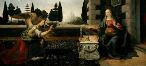 Annunciazione-Leonardo-da-Vinci-Uffizi-Firenze-1472