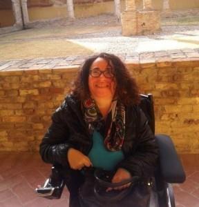 Un'immagine di Mariaclaudia Cantoro.