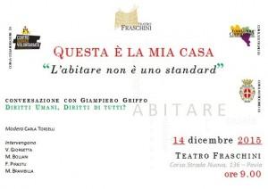 Invito 14 Dicembre Convegno Pavia Vita Indipendente