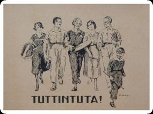 Immagine tratta dall'Archivio Thayaht & RAM, 1920.