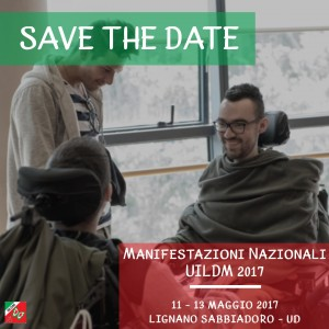 Save the date Manifestazioni