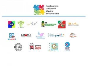 Camn giornata mondiale malattie neuromuscolari loghi associazioni